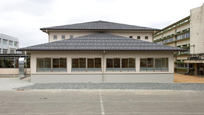 県立八頭高等学校第1教室棟新築工事(建築)