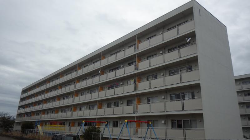 雇用促進住宅 津ノ井宿舎 外壁改修工事
