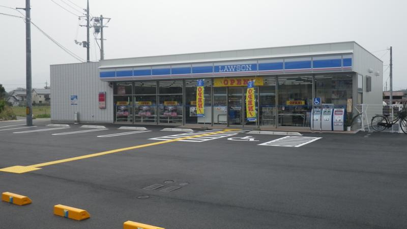 ローソン倉吉西倉吉町店新築工事