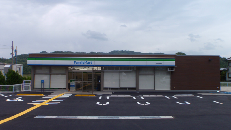 ファミリーマート岩美町浦富店(仮称)新築工事