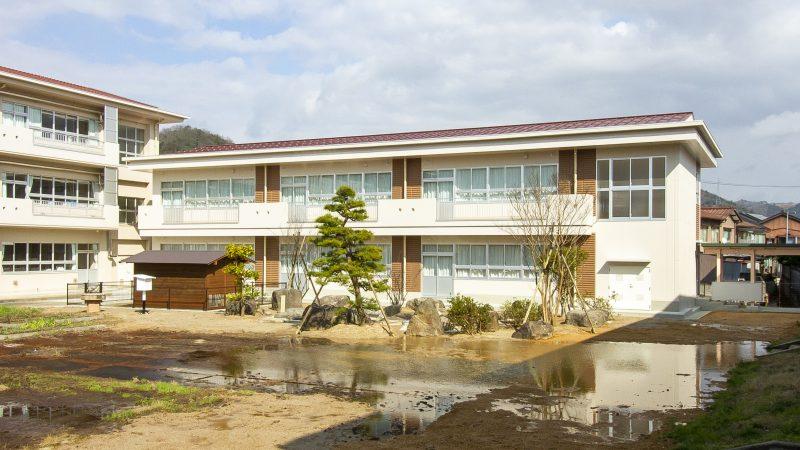 鳥取市立修立小学校校舎増築(建築)工事