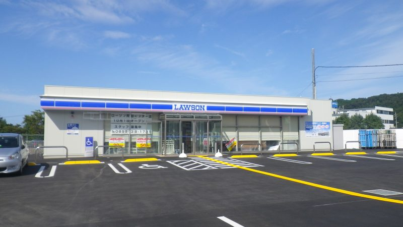 ローソン青谷インター店新築工事